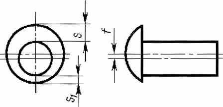 ГОСТ 10304-80 Заклепки классов точности В и С