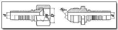 J.I.S. - Japanese Industrial Standard (японский стандарт) фитингов и наконечников РВД