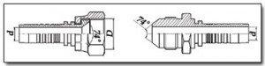 J.I.C. - Joint Industries Council (американский стандарт) фитингов и наконечников РВД