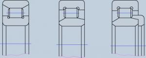 Роликовые радиальные :: однорядные подшипники с короткими цилиндрическими роликами