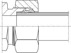 Конструкция и принцип действия резьбовых соединений гидравлических труб