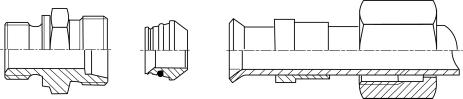 Монтаж труб с резиновым соединением. Монтаж труб с отбортовкой и резьбовых соединений с режущим кольцом