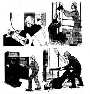 способы освобождения пострадавшего от действия электрического тока