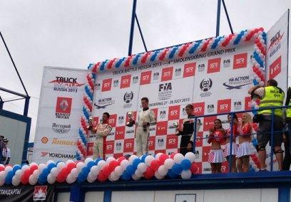Шелл выступил партнером чемпионата по гонкам грузовиков