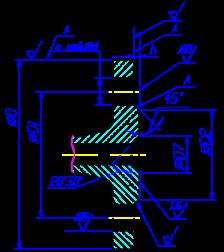 фланца под линзовую прокладку