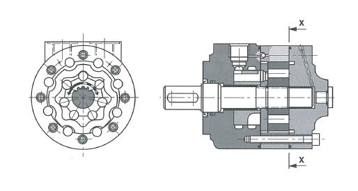 Гидромотор с планетарными шестернями