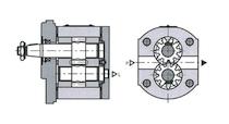 Шестеренный гидромотор