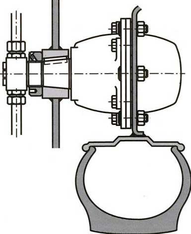 Многотактные аксиально-поршневые гидромоторы с вращающимся корпусом