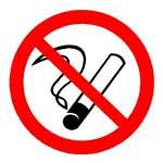 Запрещающие знаки. Запрещается курить