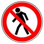 Запрещающие знаки. Проход запрещен